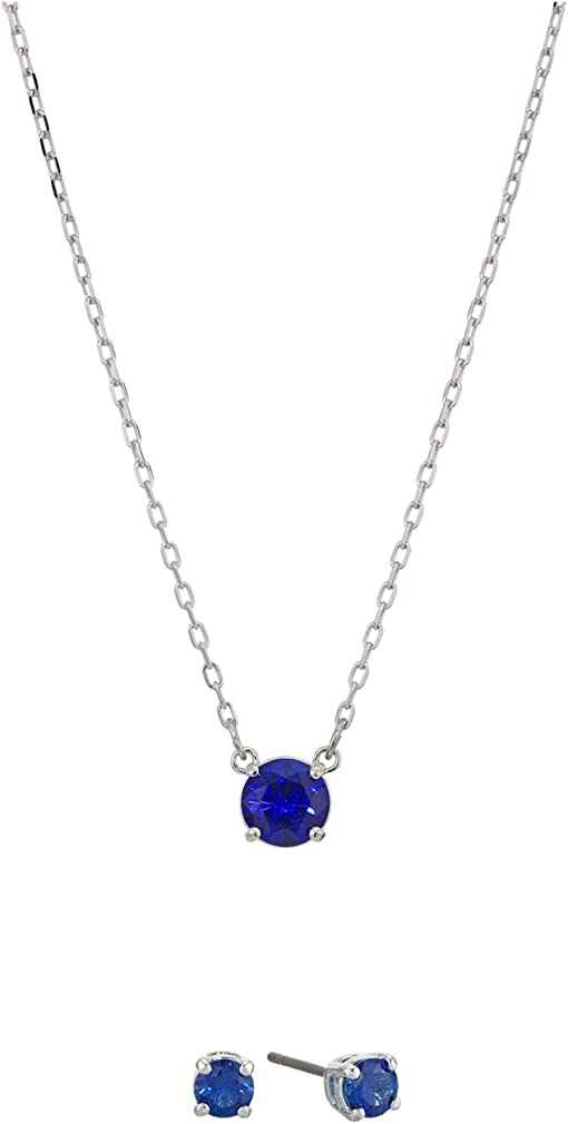 CZ Sapphire Blue Dark