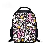 MINGPAI Dibujos animados increíbles niños mochila mochila escolar jardín de infantes niña mochila escolar mochila para niños (1,31 * 24 * 9cm)
