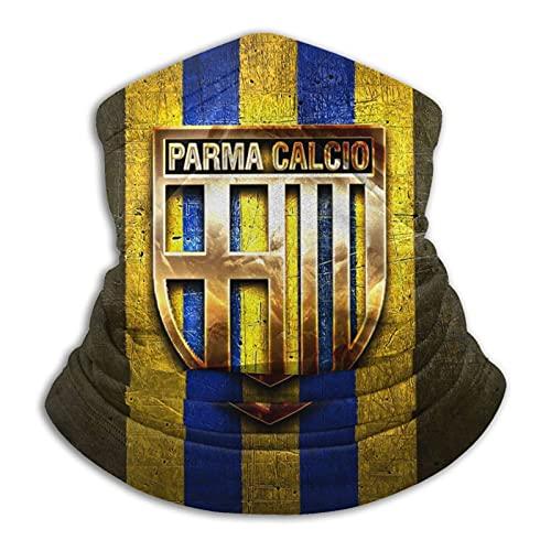 Par-Ma Calc-Io Fc Logo Dorado Cálido Cuello Bufanda Turbante Headgear Cara Toalla Cuello Protección a prueba de viento a prueba de polvo Pasamontañas Sombrero