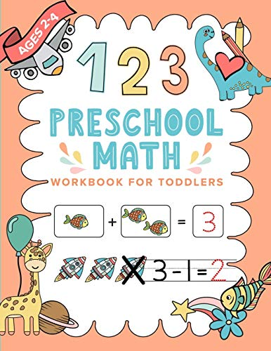 Preschool Math Workbook For Toddlers