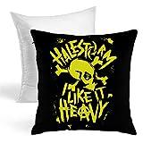 [CSHQ] ヘイルストームパンクスカル Halestorm Punk Skull フルジップ 抱き枕 だきまくら クッション 座布団 柔らかい 贈り物 中身:綿 45*45cm