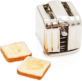 Odoria 1:12 Miniature Two Slice Toaster Dollhouse Kitchen Accessories