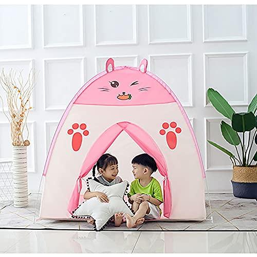Tipi Tienda De Niños Estuche Casa De Juegos Plegable Tienda para Interior Juego Al Aire Libre