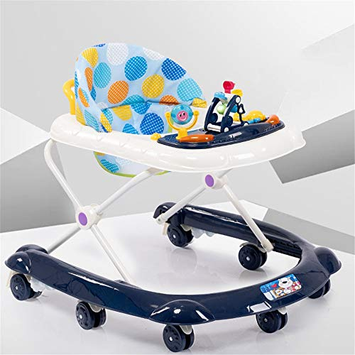 Buy Discount HANXIAODONG Baby Push Walker Girl&Boy Walker Toy Infant Baby Walker Multifunction, 2-in...