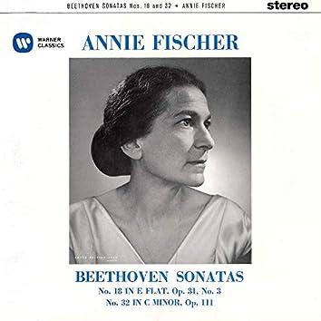 Beethoven: Piano Sonatas Nos. 18 & 32
