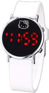Orologio Bambino XYBB Cartone animato per orologio da polso in silicone con orologio da polso digitale a LED elettronico p...