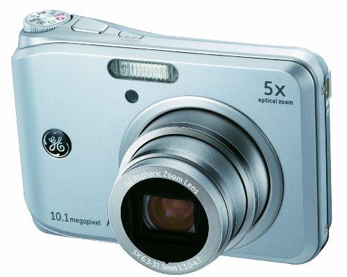 GE General Electric A1050Cámara Digital (10megapíxeles, óptico de 5. Zoom, Pantalla de 6,4cm (2,5Pulgadas))