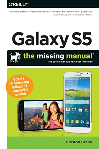 Galaxy S5: The Missing Manual (Missing Manuals) (English Edition)