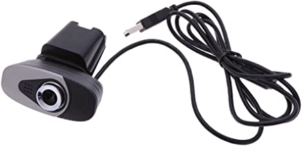 L-MEIQUN,Fotocamera Clip-on USB2.0 Webcam Fotocamera HD da 12 Megapixel con Supporto per Microfono ad Assorbimento Acustico Incorporato per Computer PC Laptop - Trova i prezzi più bassi