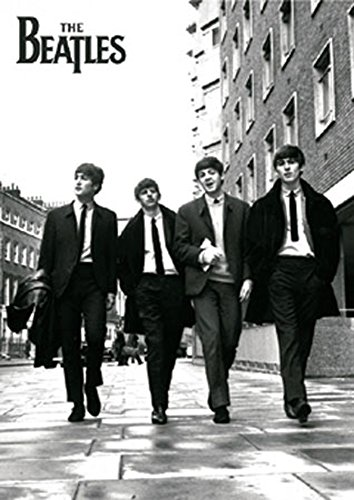 Beatles, The - In London - Musikposter schwarz-Weiss Foto London Classics - Grösse 61x91,5 cm