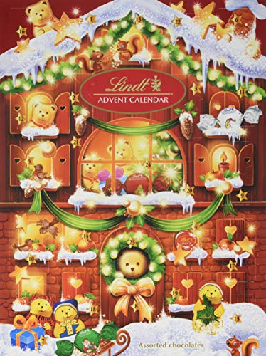 Lindt Teddy Adventskalender, Schlitten Design, 1er Pack (1 x 172 g)