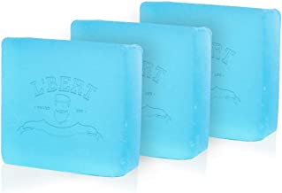 L'BERT Ocean Blue 100% Natural Organic Handmade Bath Soap | For Deep Cleansing, Refreshing & Long Lasting - 100 g (Pack of 3) | Paraben & Sulphate Free (100 g)