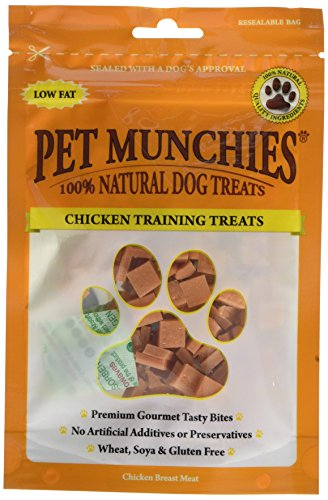 PET Munchies pollo entrenamiento trata 150g