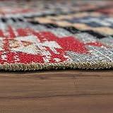 Paco Home In- & Outdoor Teppich Modern Zickzack Muster Terrassen Teppich Bunt, Grösse:60x100 cm - 5