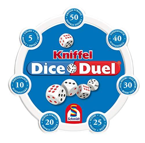 Schmidt Spiele 49353 Kniffel Dice Duel, Würfel-und Familienspiel, bunt