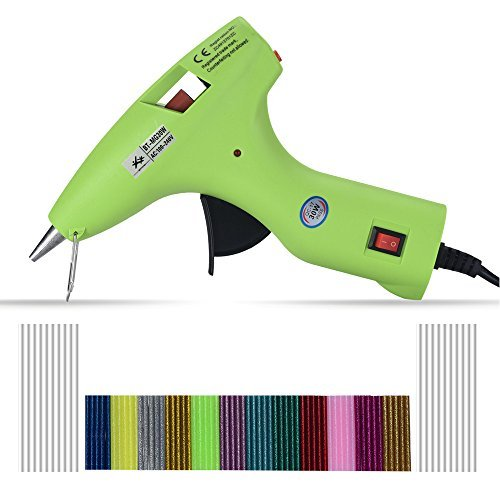 Hot Glue Gun kits -- 30 Watt with 80pcs Glue Sticks, 100% Safe - Energy Efficient, for DIY Arts & Crafts, Sealing and Quick Repairs