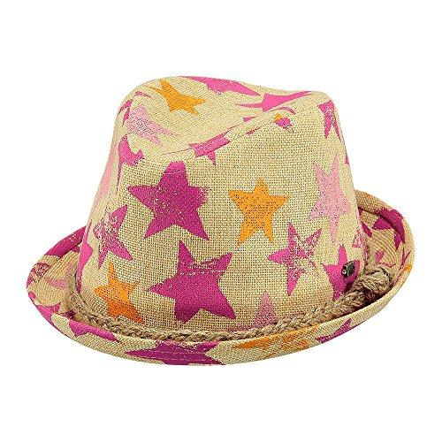 barts Kinderhut Sonnenhut 8659408 Colli Hat Sterne Pink Gr. 55