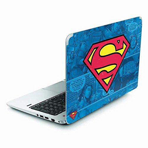 Skinit Decal Laptop Skin for Envy TouchSmart 15.6in - Officially Licensed Warner Bros Superman Logo Design