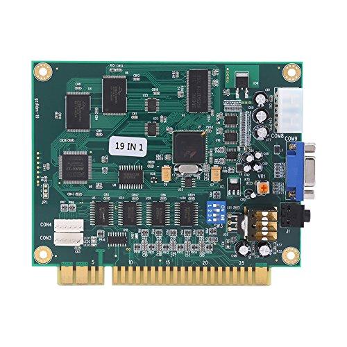 Hztyyier Klasyk 19 w 1 Arcade deska do gier PCB Multi Game Board z wyjściem CGA/VGA do maszyny Table Machine Arcade Game Machine