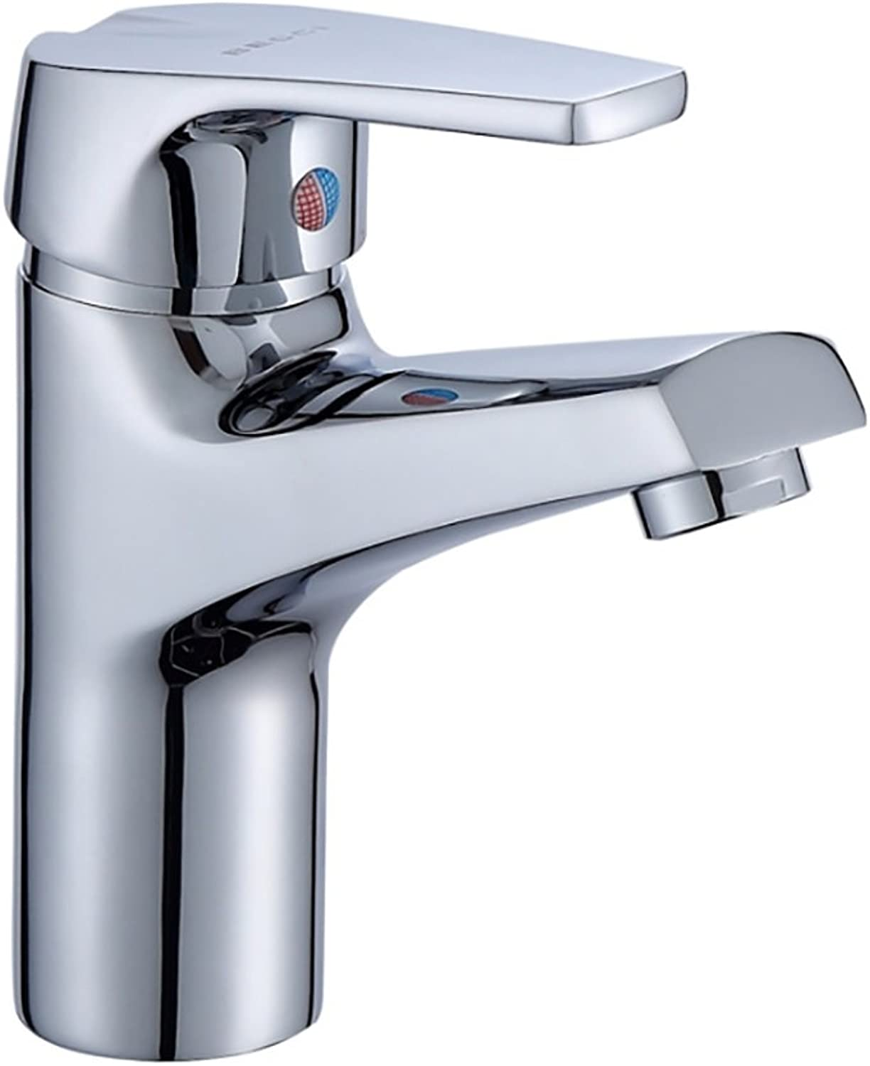 GAOLIQIN Hot & Cold Basin Faucet Stunning Waterfall Bathroom Sink Cold and Hot Water Tap Chrome Finish Bathroom balcony faucet