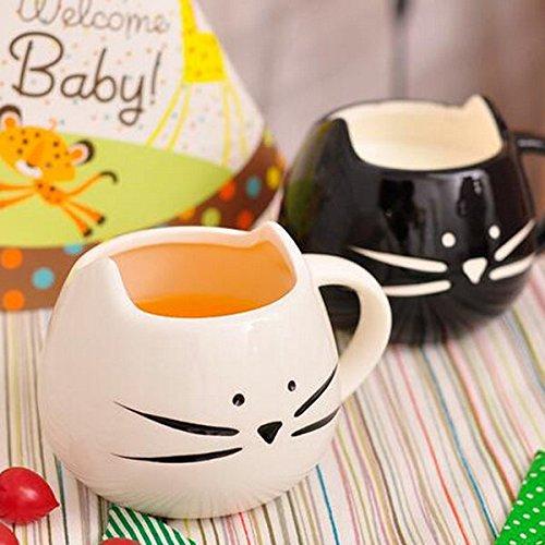 Bazaar Creative Keramik Katze Tier Tasse Kaffee Wasser Milch Tasse Paare Liebhaber Tasse