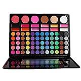 78 Colores Sombra De Ojos Paleta de Maquillaje Cosmética con Corrector y Rubor y Sombra De Ojos - Perfecto para Sso Profesional y Diario (Color 3)