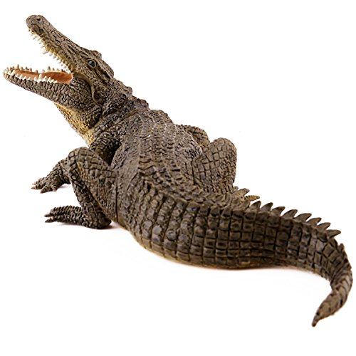 Papo 50055 WILDTIERE DER Welt Nil Krokodil, Mehrfarben