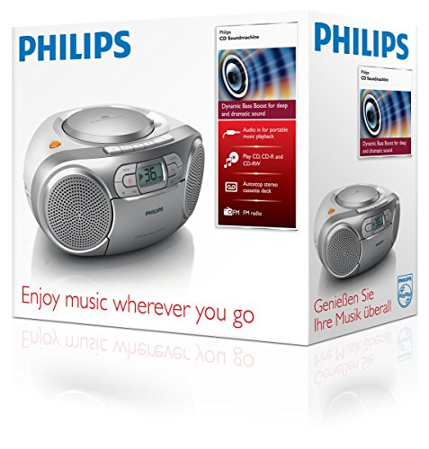 Philips Soundmaschine Radiorecorder mit CD - 4