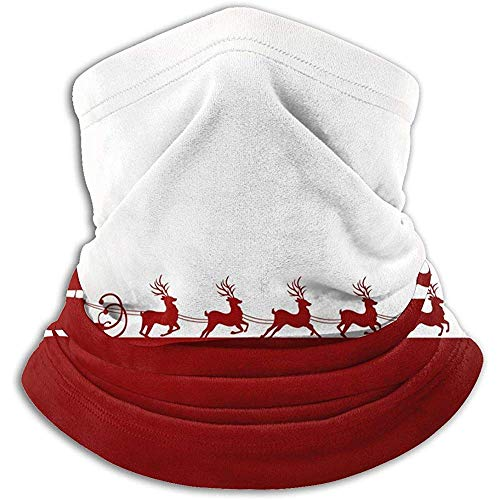 Duang Face Scarf Kerstman Kerstman rijden in één slee lichte halsmanchetbuis multifunctionele halswarmer snowboarden winddichte halsmanchet hals manchet was