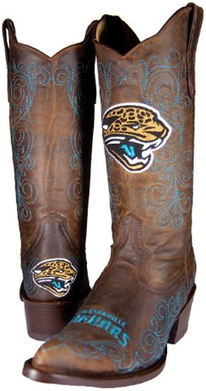Old Pro Leathers NFL Jacksonville Jaguars Damen Flyer Flyer Flyer Pull Up Western Stiefel, Braun, 6  bcc945