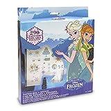 Disney Frozen - Premium Tattoos, set de joyería y maquillaje (Toy Partner 675404)