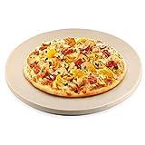 Wly&Home Pizza DE Pizza DE Pizza DE Pizza DE Pizza CERÁMICA DE 12IQUES / Pan, Parrilla Y EL Horno - Termal Resistente, Durante Y Seguro