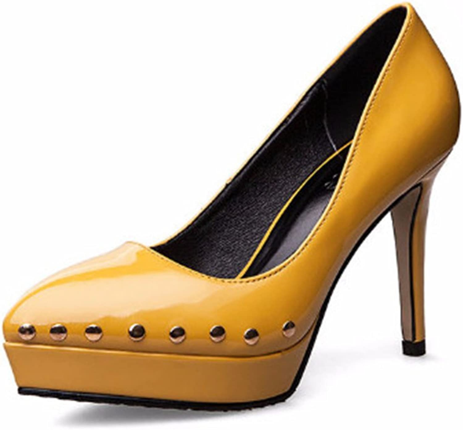Women Pointed Toe Elegant Shallow Mouth High Heel Kitten Heel color Match Wedding shoes Performance shoes