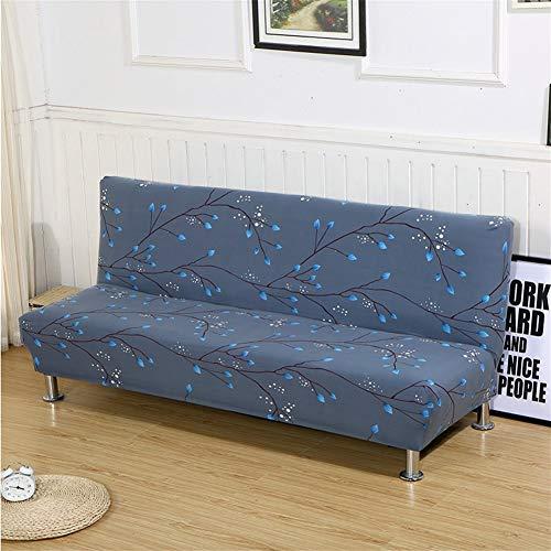 RUYU All-Inclusive-Sofa-Abdeckung Stretch Husse Couch Abdeckung Sofa-Abdeckung for Wohnzimmer ohne Armlehne Folding-Abdeckung for Schlafsofa (Color : Color 2, Specification : S 160 195cm)