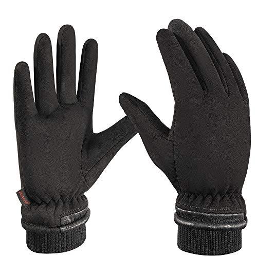 arteesol -35℃ wasserdichte Thermo Winterhandschuhe, Dicke Touchscreen Handschuhe, Winddichte Fahrrad Handschuhe, zum Fahren, Skifahren, Radfahren, Laufen bei Kaltem Wetter