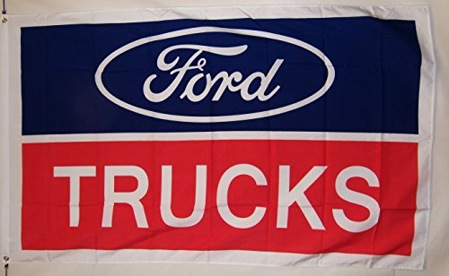 Ford Trucks Auto Flagge 3'x 5' Indoor Outdoor Banner