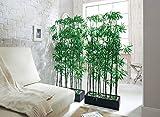 Pureday Solvant de Chambre Bambou Artificiel de Plante, Hauteur approximative 140 cm