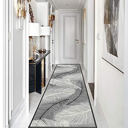Tappeto passatoia 120x160cm, Tappeto Cucina passatoia, Attraente Lavabile Robusto Pastello, Usato in Soggiorno Salotto Moderno.