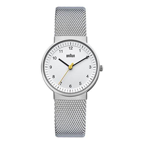 Braun Damen-Armbanduhr Unisex Ladies Classic Watch Analog Quarz BN0031WHSLMHL