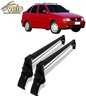 Rack de Teto Polo Classic 95 96 97 98 99 00 01 com 4 Portas Preto Aço Vhip