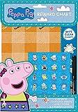 Anker International Childrens Wipe Clean Reward Charts With Stickers & Pen 3 Designs Weekly Planner (Peppa Pig)