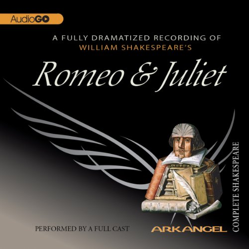 Romeo and Juliet     Arkangel Shakespeare              Written by:                                                                                                                                 William Shakespeare                               Narrated by:                                                                                                                                 Joseph Fiennes,                                                                                        Maria Miles,                                                                                        Elizabeth Spriggs                      Length: 3 hrs and 2 mins     1 rating     Overall 4.0