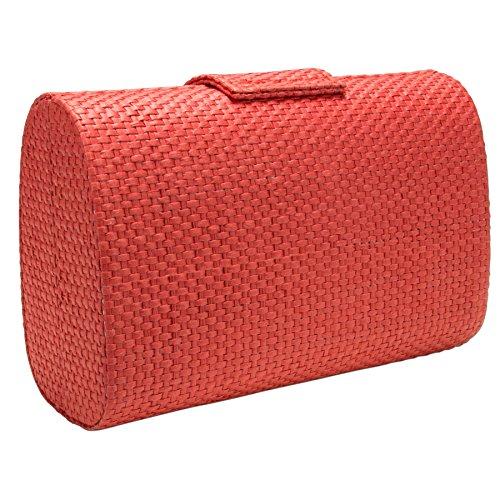 Alpenflüstern Trachtentasche Strass-Edelweiß rot DTA072 - 4