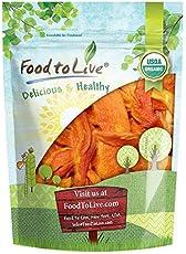 Organic Dried Papaya Spears, 1 Pound - Non-GMO, Kosher, Unsulfured, Unsweetened, Vegan, Bulk