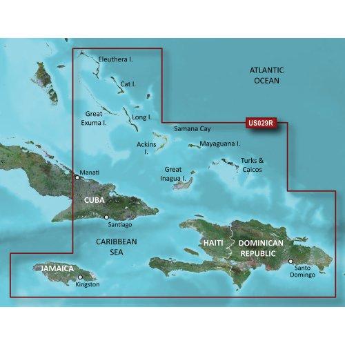 Best Buy! Garmin vus029r southern bahamas sd card over $150