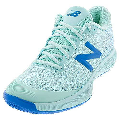 New Balance Women's FuelCell 996 V4 Hard Court Tennis Shoe, Bali Blue/Vision Blue, 8.5 M US