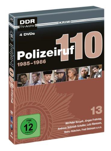 Polizeiruf 110 - Box 13: 1986 (DDR TV-Archiv) (4 DVDs)