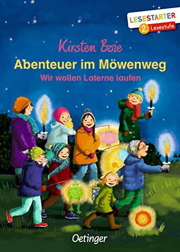 Abenteuer im Möwenweg: Wir wollen Laterne laufen (Lesestarter)