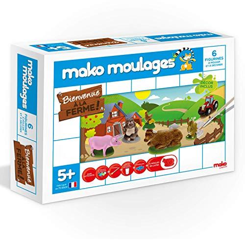 Mako Moulages - Kit Créatif - Coffret Bienvenue à la Ferme