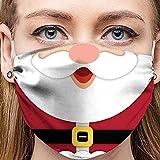 Lulupi Weihnachts Mundschutz Multifunktionstuch Weihnachten Motiv Bandana Maske Waschbar Lustig Weihnachtsmaske Mund und Nasenschutz Schneemann Weihnachtsmotiv Bedeckung Halstuch Schals Herren Damen